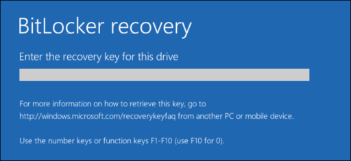 Enabling BitLocker for 256bit Encryption