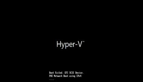 disk2vhd hyper-v boot failure
