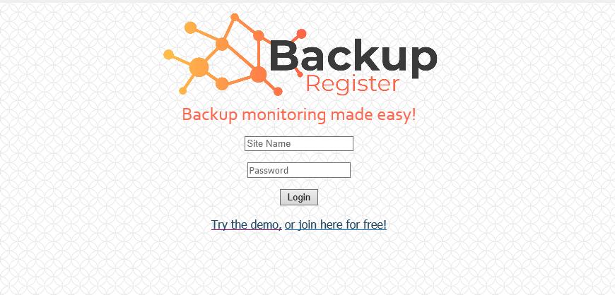 Backup Register