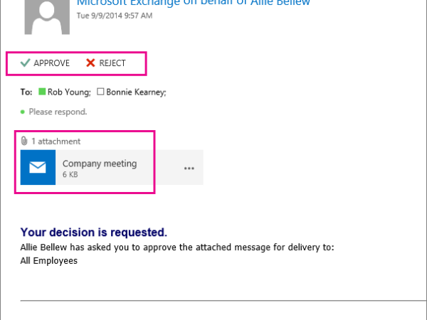 Enable E-Mail moderation in Office 365 with AD Connect