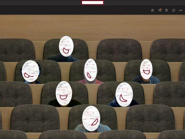 50+ Teams video feeds in one window